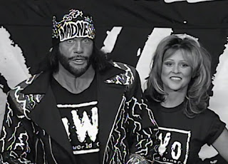 WCW Halloween Havoc 1997 - Macho Man Randy Savage and Elizabeth