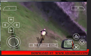 Downhill PPSSPP