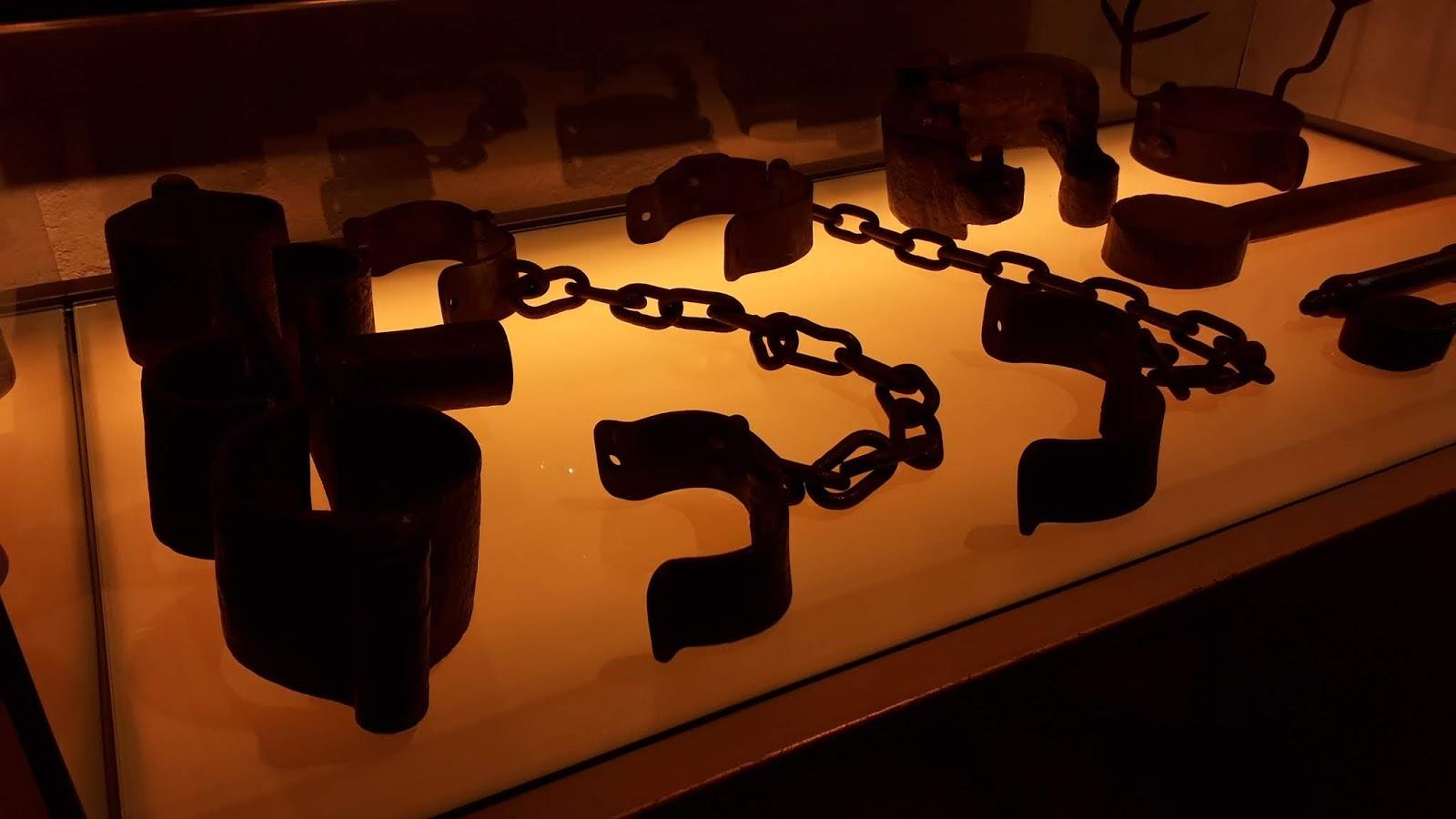 Peças utilizadas durante a escravidão