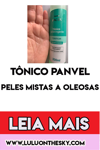 Tônico Panvel Faces Mista a Oleosa
