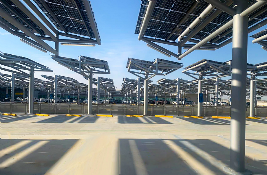 Largest solar-powered car park completed in Abu Dhabi