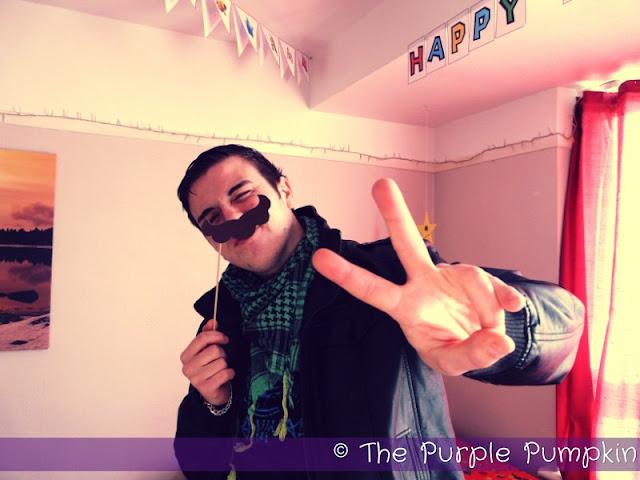 Mario Mustaches | The Purple Pumpkin Blog