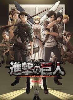 تقرير أنمي هجوم العمالقة الموسم الثالث Shingeki no Kyojin Season 3