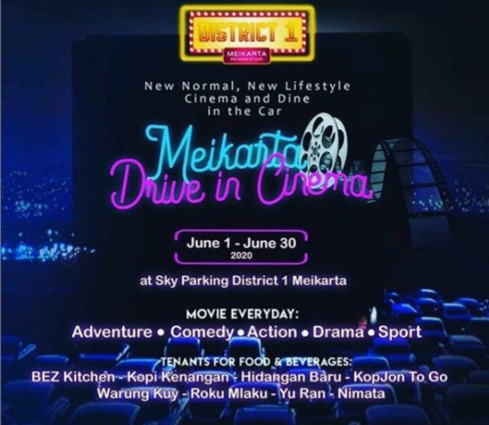 Sensasi Nonton Film Drive Thru Meikarta
