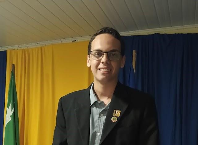Vereador Thallys Bruno participa da cerimônia de posse da nova diretoria do Lions Club Belo Jardim