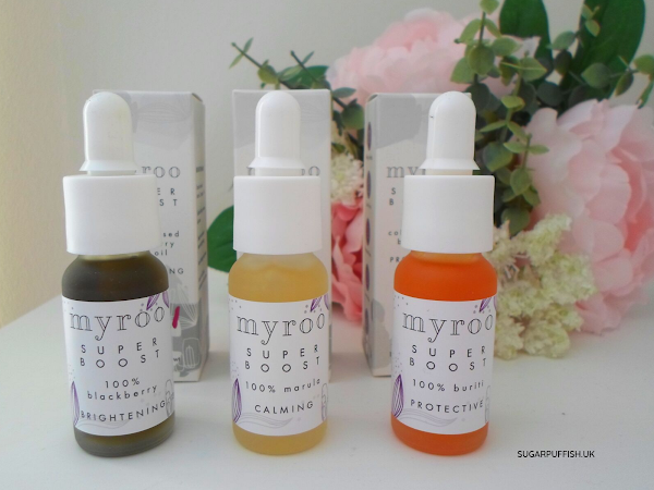 Review: Myroo Super Boost Drops - Brightening Blackberry, Protective Buriti and Calming Marula