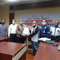 Wartawan Lokal  Wajo Mendapat Bantuan Covid 19 dari Energi Equty Epic Sengkang