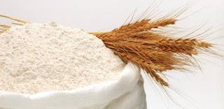 hidratação de farinha de trigo