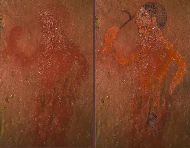 Hidden scenes revealed in Etruscan paintings