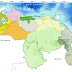 Nubosidad con precipitaciones de intensidad variable sobre: Sur Amazonas, Bolívar y Esequibo
