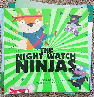 The Night Watch Ninjas By Lily Roscoe, Lisa & Damien Barlow
