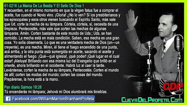Prepárense, la hora está a la mano - William Branham en Español