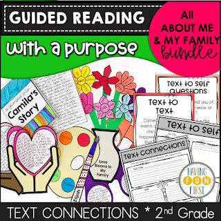 Guided Reading with a Purpose About Me & My Family