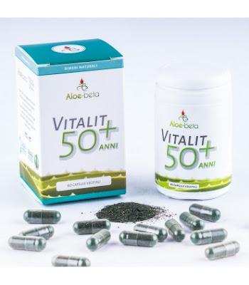 Vitalit 50 + anni È un integratore alimentare a base di spirulina,