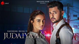 Judaiyaan Darshan Raval Song English/Hindi Lyrics idoltube -