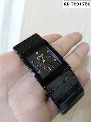 Đồng hồ nam cao cấp dây đá ceramic RD T291750