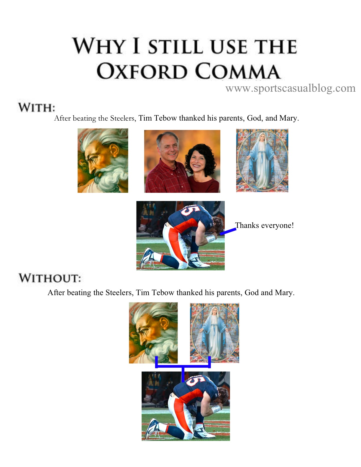 Why I Don T Use Seasonal Capsule Wardrobes: Sports Casual: Why I Still Use The Oxford Comma