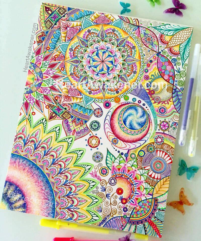 Created by Luna Ahn for the vibrations of Sanat Kumara