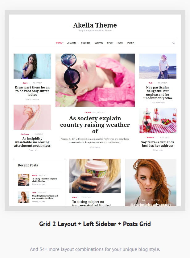 Download Akella - Personal Blog & Magazine WordPress Theme for free