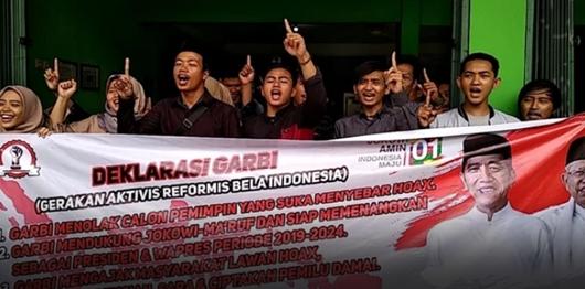 Aktivis GARBI Dukung Jokowi Karena Sudah Terbukti Kerjanya