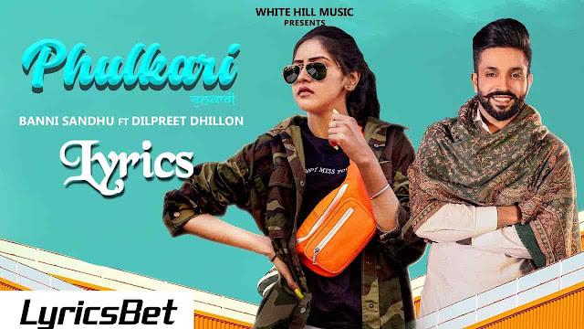 Phulkari Lyrics - Baani Sandhu
