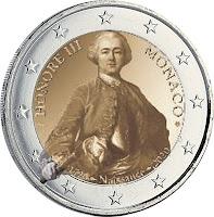 Monaco 2 euroa kolikko 2020