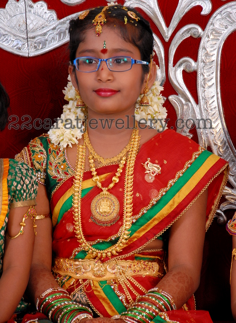 Traditional Jewellery For Half Saree Function Jewellery