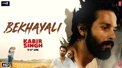 Bekhayali Song Lyrics Kabir Singh