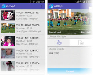Donwload vid2mp3 Apps For Android