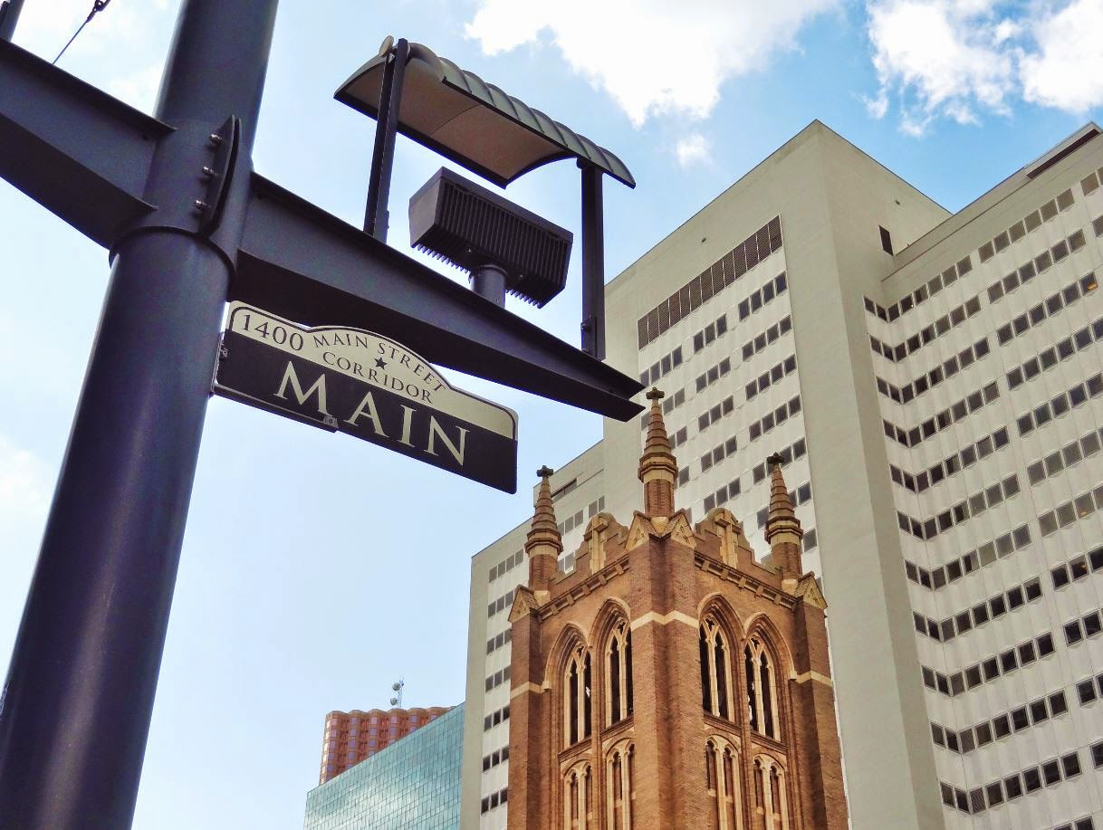 Photo of First Methodist Church in Downtown Houston