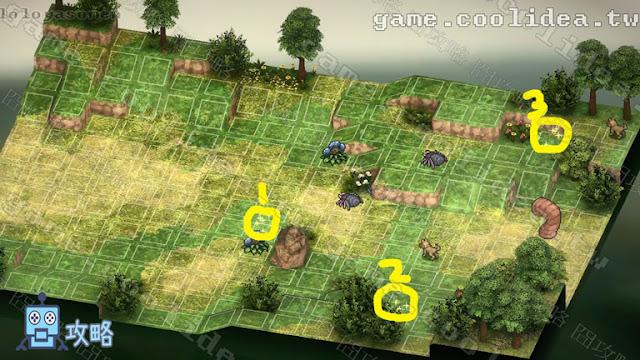 Mercenaries Blaze 傭兵烈焰 黎明雙龍 第07章  決斷 / 決断 戰場地圖