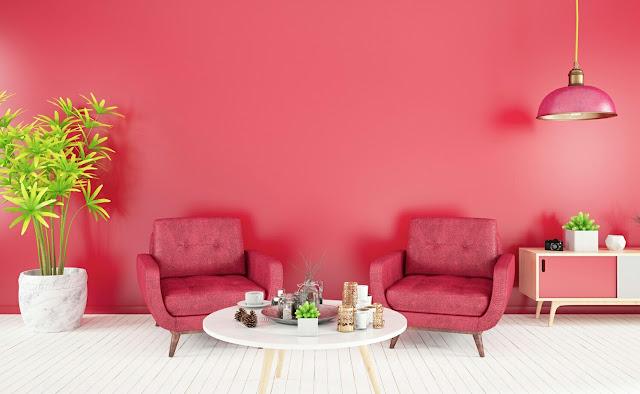 Fuchsia House Paint