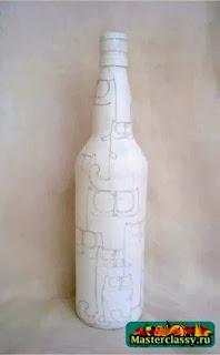 Kerajinan Tangan Dari Botol Bekas, Botol Lukis 5