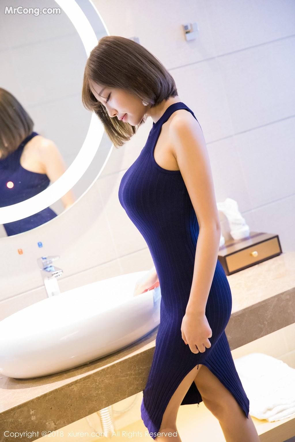 Image XIUREN-No.919-Yang-Chen-Chen-sugar-MrCong.com-015 in post XIUREN No.919: Người mẫu Yang Chen Chen (杨晨晨sugar) (55 ảnh)