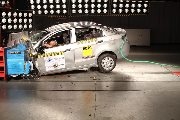 Chevrolet Sail LatinNCAP
