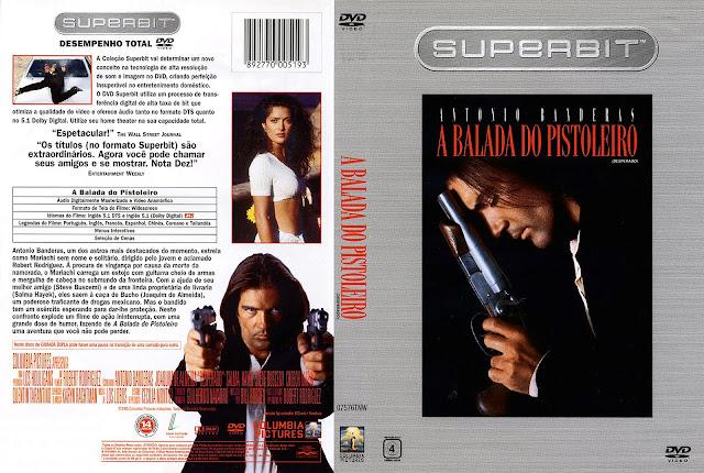 Capa DVD A Balada do Pistoleiro