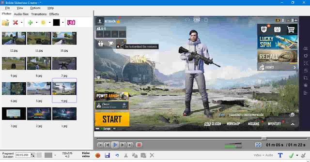 تحميل برنامج صنع فيديو من الصور والاغاني للكمبيوتر