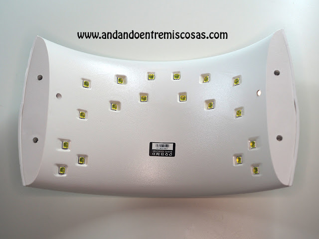 Lámpara Para Uñas De Gel Pequeña Y Portátil