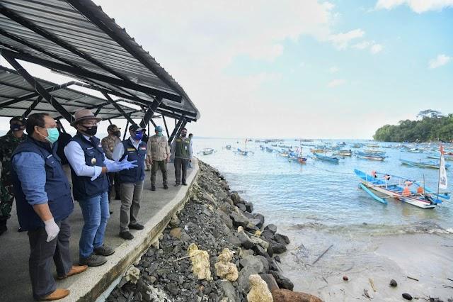 Penerapan AKB Sektor Pariwisata : Masuk Pantai Pangandaran Harus Ada Surat Sudah Rapid Test