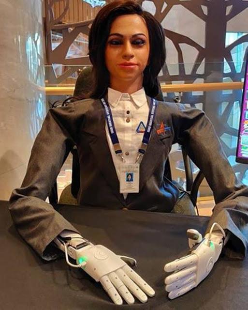 Robot Vyomamitra for Gaganyaan Mission