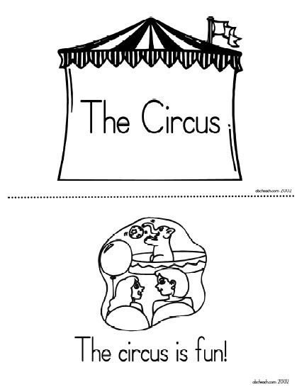 Differentiated Instruction (for reading) Circus Style