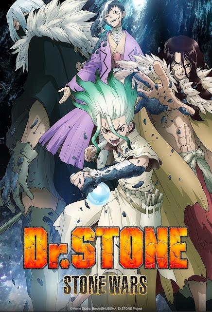 Dr Stone Season 2 Stone Wars