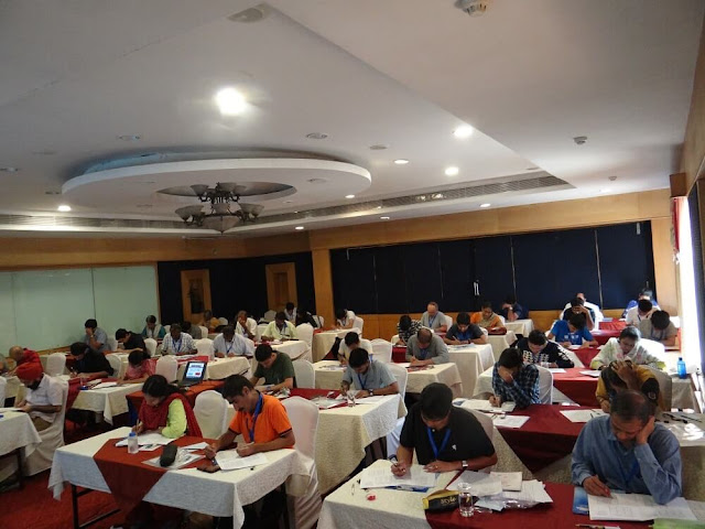 Indian Sudoku Championship 2017 Competition Hall