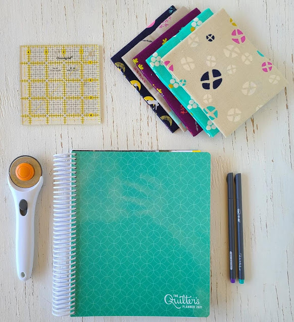 2021 Quilter's Planner Cover