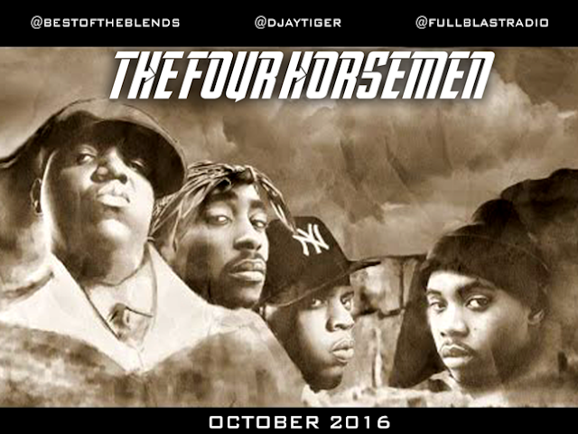 THE FOUR HORSEMEN - BIGGIE, TUPAC, JAYZ, NAS