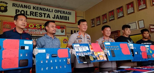 Nekat, Ibu Hamil Jual Narkoba di Kota Jambi