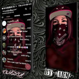 Chola Girls Theme For YOWhatsApp & Fouad WhatsApp By ABM