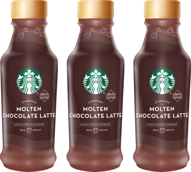 Starbucks Introduces New Molten Chocolate Ready To Drink