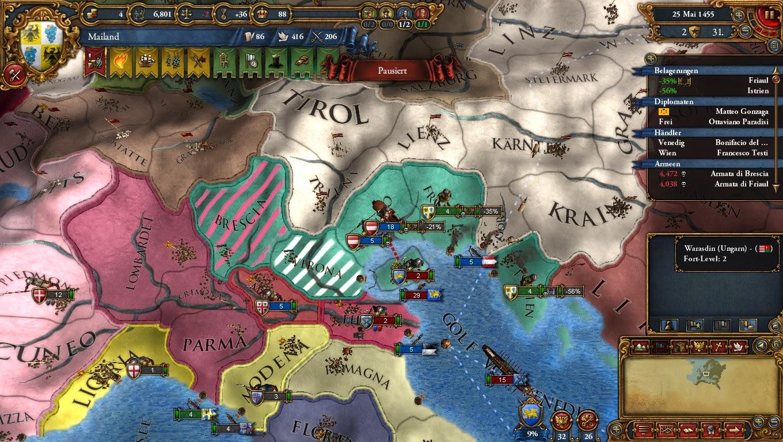 Europa Universales 4 - Mailand, Venedig, Österreich