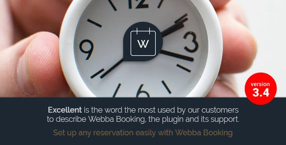 Webba Booking v3.8.27 - WordPress Appointment & Reservation plugin Download